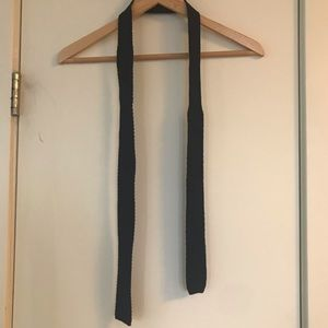JCrew Navy Cotton Knit Tie